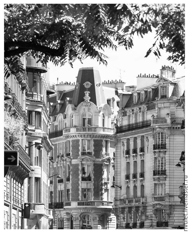 Paris black and white pictures for interior design – Paris photo pictures of the city. More fine art photographs for sale.