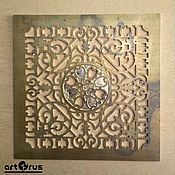 handmade. Livemaster - original item OPENWORK VENTILATION GRILLE - decorative ornament. Handmade.