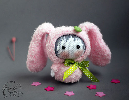"""Обучающие материалы ручной работы. Ярмарка Мастеров - ручная работа. Купить Мастер-класс """"Маленькая куколка Розовая Зайка из серии Tanoshi"""". Handmade."""