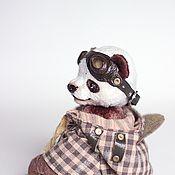 Куклы и игрушки ручной работы. Ярмарка Мастеров - ручная работа Шуай малыш панда 13,5см. Handmade.