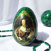 Подарки к праздникам handmade. Livemaster - original item Easter egg Madame Pompadour. Handmade.