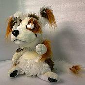 Куклы и игрушки ручной работы. Ярмарка Мастеров - ручная работа собачка Фафик. Handmade.