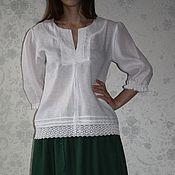 """Одежда ручной работы. Ярмарка Мастеров - ручная работа Легкая блузка """"Прованс"""". Handmade."""