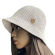 Аксессуары handmade. Livemaster - original item Hat panama crochet summer