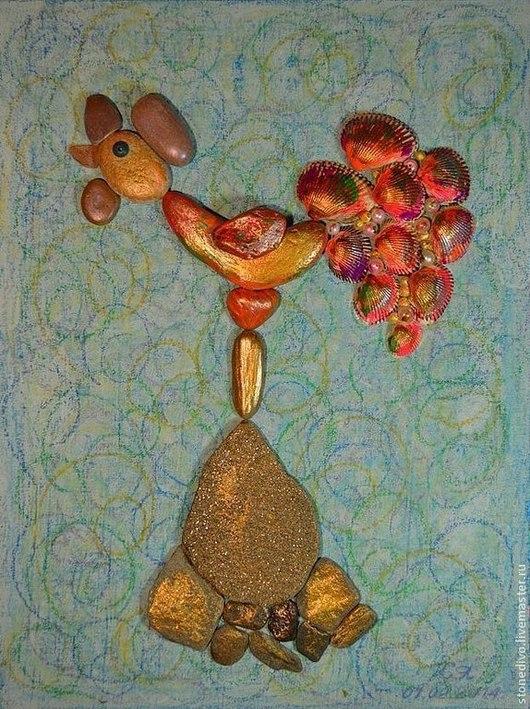 При приобретении картины `Флюгер` книга поэм-сказок `Колечко` и `Брошь` Галины Горюновой  в подарок. Данная картина использована в этой книге в качестве фоторепродукции.