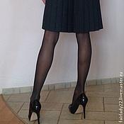 Одежда ручной работы. Ярмарка Мастеров - ручная работа Платье повседневное  С юбкой в складку. Handmade.