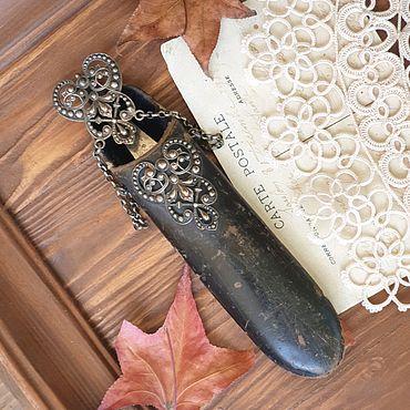 Винтаж ручной работы. Ярмарка Мастеров - ручная работа Антикварный шатлен, чехол для очков, ножниц. Handmade.