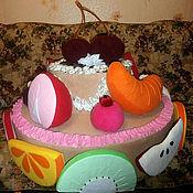 Куклы и игрушки ручной работы. Ярмарка Мастеров - ручная работа Игрушка ТОРТ реквизит для аниматоров. Handmade.