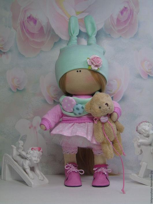 Коллекционные куклы ручной работы. Ярмарка Мастеров - ручная работа. Купить Текстильная кукла Ника. Handmade. Текстильная кукла