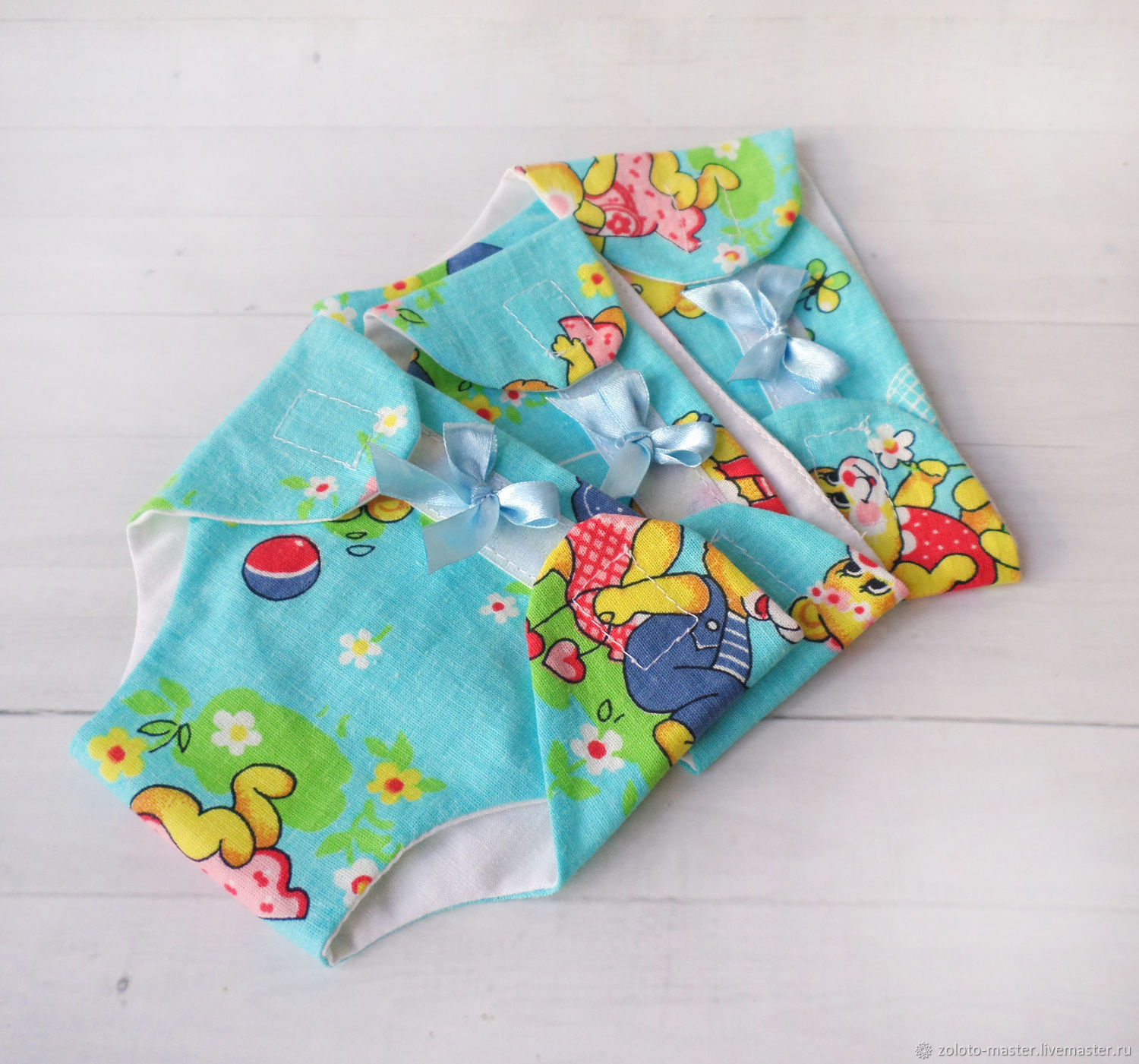 Diapers for dolls. Reusable, Clothes for dolls, Chaikovsky,  Фото №1