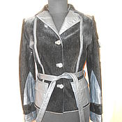 Одежда ручной работы. Ярмарка Мастеров - ручная работа куртка из меха нерпы с кожей. Handmade.