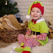 Работы для детей, ручной работы. Ярмарка Мастеров - ручная работа Карнавальный новогодний костюм Эльфа для малышей и детей. Handmade.