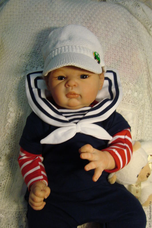 Куклы-младенцы и reborn ручной работы. Ярмарка Мастеров - ручная работа. Купить Judith от скульптора Adrie Stoete. Handmade. Бежевый
