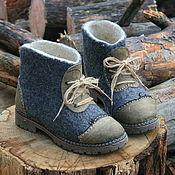 Обувь ручной работы. Ярмарка Мастеров - ручная работа Серые. Handmade.