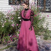 """Одежда ручной работы. Ярмарка Мастеров - ручная работа Платье 1890-х. """"Пепел розы"""". Handmade."""