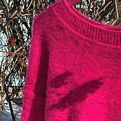 Одежда ручной работы. Ярмарка Мастеров - ручная работа джемпер из пуха норки. Handmade.