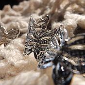"""Кольца ручной работы. Ярмарка Мастеров - ручная работа Серебряное кольцо """"Эллада"""". Handmade."""