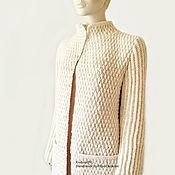 """Одежда ручной работы. Ярмарка Мастеров - ручная работа Кардиган женский . """"Бэлль"""". Handmade."""