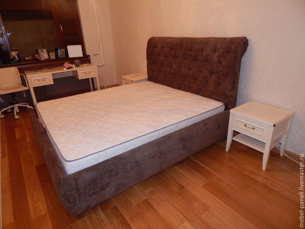 Кровать с изголовьем, Кровати, Москва,  Фото №1