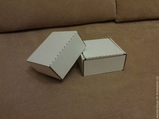 Упаковка ручной работы. Ярмарка Мастеров - ручная работа. Купить Коробки и коробочки из гофрокартона. Handmade. Белый, коробка, гофрокартон, ящичек