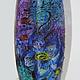 """Вазы ручной работы. Ярмарка Мастеров - ручная работа. Купить Ваза """"Музыка цветов"""". Handmade. Синий, ваза для цветов"""