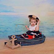 Дизайн и реклама ручной работы. Ярмарка Мастеров - ручная работа Лодка широкая для фотосессий младенцев.Дерево.. Handmade.