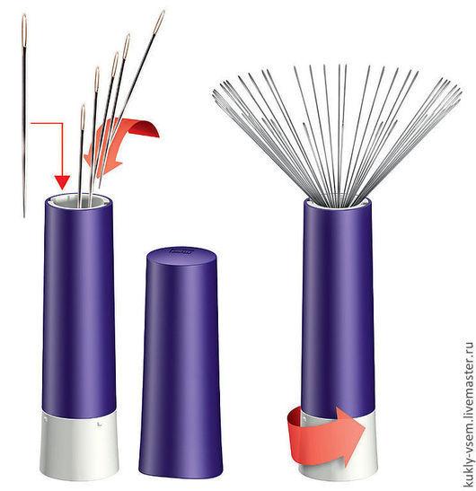 Магнитная игольница - твистер PRYM 610291 http://www.youtube.com/watch?v=XQ9C_Ld_dVk