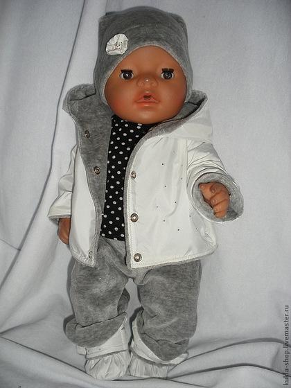 Как сделать комбинезон для куклы беби бон своими руками