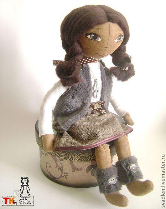Человечки ручной работы. Ярмарка Мастеров - ручная работа. Купить МАЙЯ - текстильная кукла для интерьера. Handmade. Куклы и игрушки, кукла