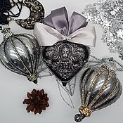Сувениры и подарки handmade. Livemaster - original item Christmas toys set