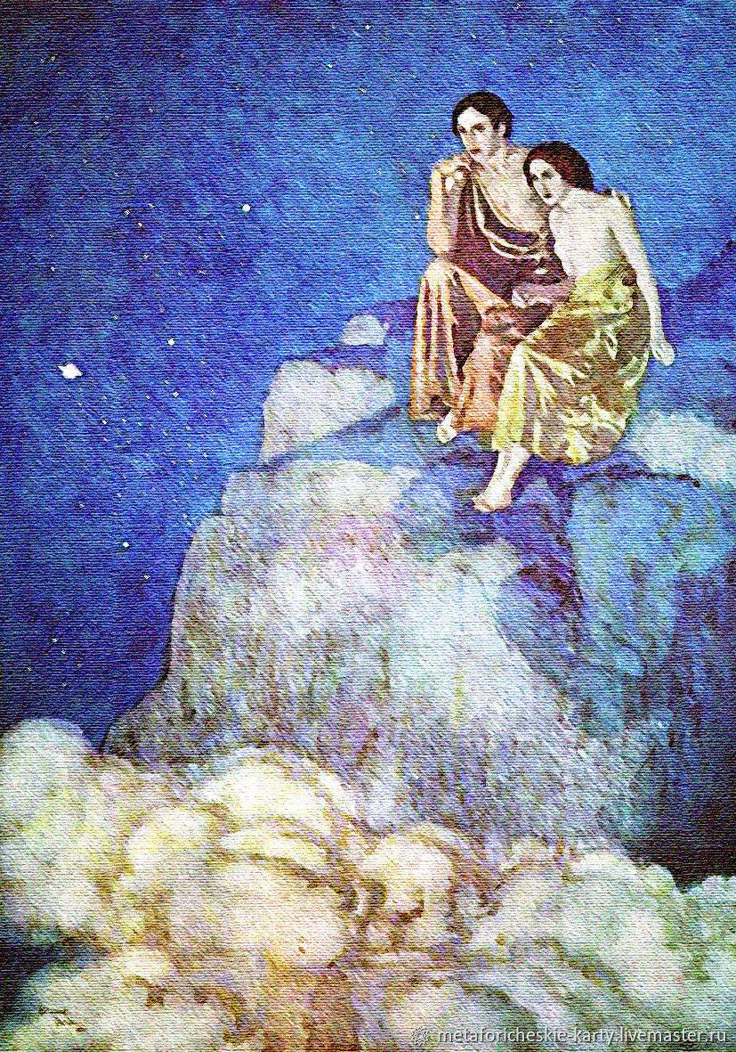 Metaphorical Associative Maps ' Eastern fairy tales', Tarot cards, Gelendzhik,  Фото №1