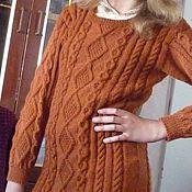 Одежда ручной работы. Ярмарка Мастеров - ручная работа джемпер-платье. Handmade.