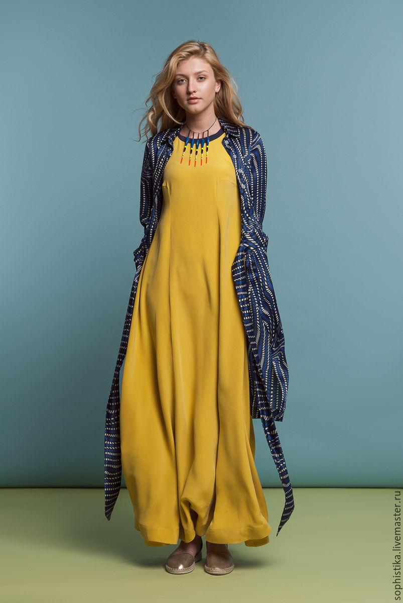 a427c1332f7 Платья ручной работы. Ярмарка Мастеров - ручная работа. Купить Шелковое  платье 5м ткани.