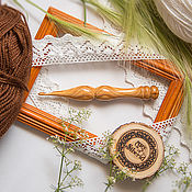 Материалы для творчества handmade. Livemaster - original item Crochet hook 4#23. Handmade.
