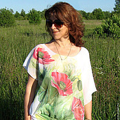 Одежда handmade. Livemaster - original item Author`s blouse