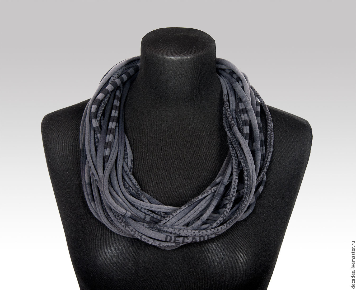 Ferro scarf necklace, Necklace, Moscow,  Фото №1