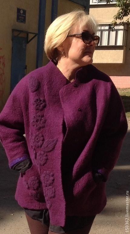 """Верхняя одежда ручной работы. Ярмарка Мастеров - ручная работа. Купить валяная  куртка ручной работы (по мотивам """"ДУОМО""""). Handmade."""
