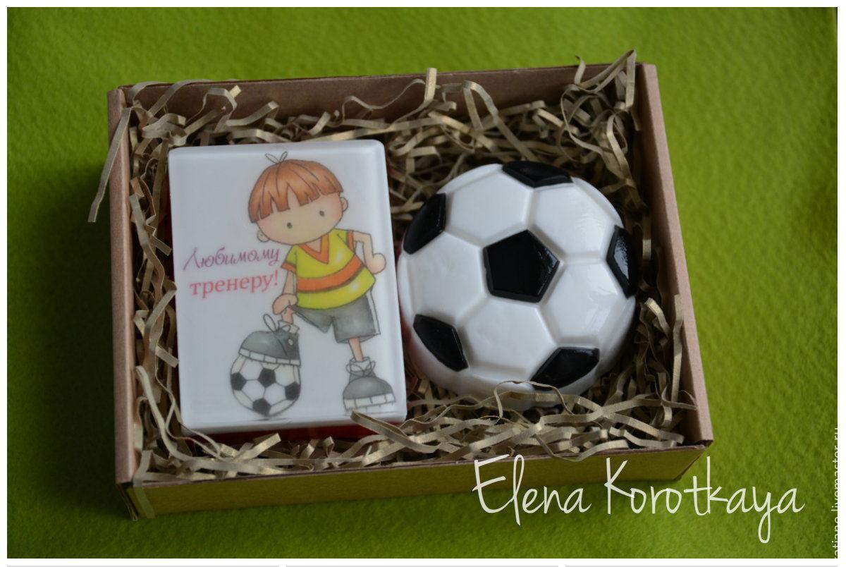 Открытка для футбольного тренера, открытки часами открытка