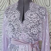 Одежда ручной работы. Ярмарка Мастеров - ручная работа Кружевной халатик. Handmade.