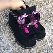 Обувь ручной работы handmade. Livemaster - original item Boots women`s black