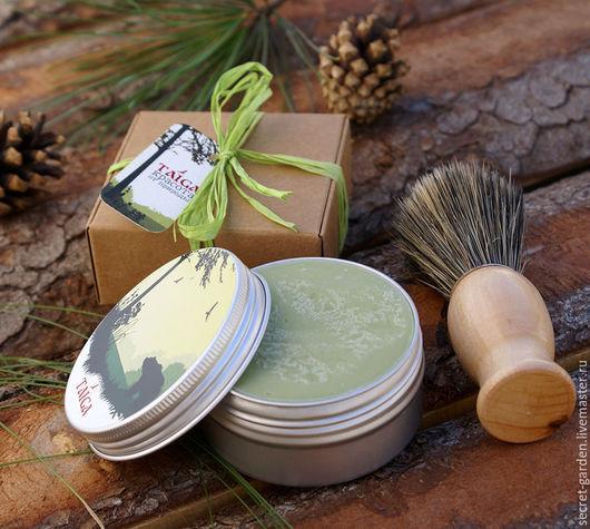 """Мыло ручной работы. Ярмарка Мастеров - ручная работа. Купить Мыло с нуля """"Тайга"""" для бритья. Handmade. Для бритья, тайга"""