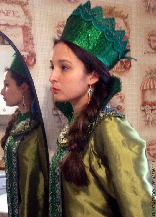 Одежда ручной работы. Ярмарка Мастеров - ручная работа. Купить Русский костюм Хозяйка медной горы. Handmade. Комбинированный