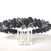 Украшения handmade. Livemaster - original item A rim of beads and stones. Handmade.