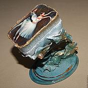 """Для дома и интерьера ручной работы. Ярмарка Мастеров - ручная работа Шкатулка """"Балет"""". Handmade."""