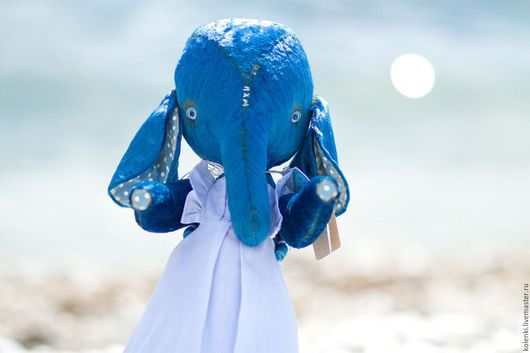 Мишки Тедди ручной работы. Ярмарка Мастеров - ручная работа. Купить Слоня Тедди + Яхта дрифтвуд морской комплект. Handmade.