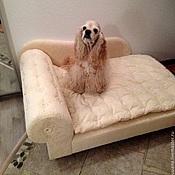 """Для домашних животных, ручной работы. Ярмарка Мастеров - ручная работа Диванчик для крупной собаки """"Фаворит"""". Handmade."""