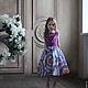Одежда для девочек, ручной работы. Заказать Детское пышное  нарядное платье. San Sarafan. Ярмарка Мастеров. Платье летнее, Аппликация