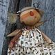 Ароматизированные куклы ручной работы. Ангелушка Дуся.. Арина Бадьянова. Текстильные куклы. (badyanova). Ярмарка Мастеров. Подарок подруге