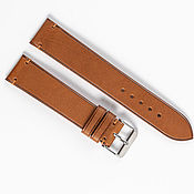 Украшения handmade. Livemaster - original item Genuine whiskey-colored leather strap. Handmade.