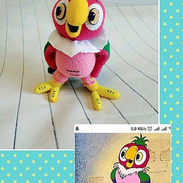 Куклы и игрушки ручной работы. Ярмарка Мастеров - ручная работа Попугай Кеша. Handmade.